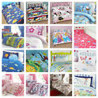 Girls and Boys Childrens Double Bedding Duvet Cover and Pillowcases From £4.95