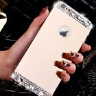 For Apple iPhone 5S 6 4.7 Plus Fashion Crystal Clear Mirror TPU Case Soft Cover