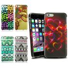 For iPhone 6 6S Plus 5.5 Fashion Pattern Design Hard Rubberized Skin Cover Case