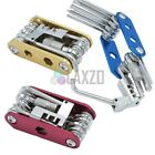 Bicycle MTB Multi Function Steel Tool kit  +Cycle Chain Tool Blue Black Red Gold