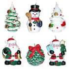 Christmas Decorative Sculpted Candles OFFICE HOME XMAS DECOR PARTY FAVORS new