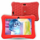 "7"" Quad Core Tablet for Kids Android 4.4 KitKat 8GB WiFi Bundle Refurbished"