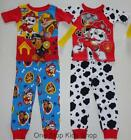 PAW PATROL Toddler Boys 24 Mo 2T 3T 4T 5T Pjs Set PAJAMAS Shirt Pants MARSHALL