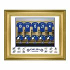 Personalised Chelsea FC Football Club Shirt Dressing Room Print