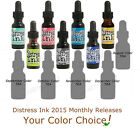 DISTRESS Tim Holtz REINKER Ranger 2015 MONTHLY COLORS dye ink pad refill CHOOSE!