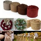 Natural Jute Hessian Burlap Ribbon Rustic Weddings Belt Strap Craft Floristry 3M