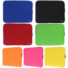 "7 Colors Sleeve Bag Carry Case Cover For 14"" Laptop Netbook"