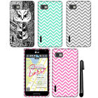 For LG Optimus F3 MS659 Cute Design TPU SILICONE Rubber Case Phone Cover + Pen