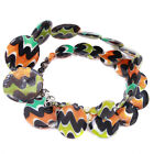 1/5x Fashion Jewelry Women Ladies Colorful Patterns Shell Bead Necklace Chic LC