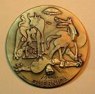 Art / Painting Guernica / Spanish Painter Picasso Amazing / Bronze Medal