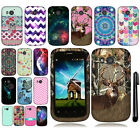 For Huawei Vision II 2 New Design PATTERN HARD Case Phone Cover + Pen