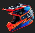 2016 TROY LEE DESIGNS TLD SE3 HELMET TEAM NAVY ORANGE ATV MX 1090057 S M L XL