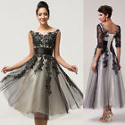 Formal Wedding Evening Dresses Party Ball Gown Prom Bridesmaid Dress PLUS SIZE A