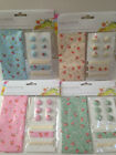 Mixed Craft Pack Incl:- Floral Fabric (24x30cm), Buttons (6) & Ribbon (3 x 30cm)
