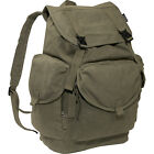 Everest Large Cotton Canvas Backpack 4 Colors School & Day Hiking Backpack NEW