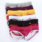 6 Colors S M L XL Breathable Men's Briefs Jockstrap Underwear G-string