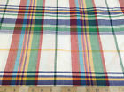 Discount Fabric Quilting Cotton Multi-Colored Plaid 033CT