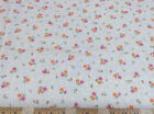 Discount Fabric Quilting Cotton Pink and Orange Floral 035CT