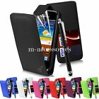FLIP CASE POUCH PU LEATHER COVER FOR SAMSUNG GALAXY J1 SM-J100 MOBILE PHONE