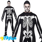 Best Smiffy's Scary Costumes - Adult Mens Skeleton Costume Jumpsuit Scary Smiffys Halloween Review