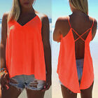 Sexy Women Sleeveless Blouse Vest Tank Top Casual Summer T-Shirt