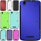 Slim Protective Hybrid Phone Cover Case with Screen for ZTE Max / Boost Max