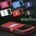 Flip Cover Case with Book Stand for LG LEON LTE H340