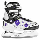 V3Tech Fiona Figure Skate Ladies Skates (White Purple) NEW