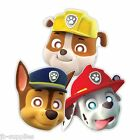 8 PAW PATROL CHILDRENS PAPER MASKS PARTY 999145