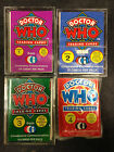 CORNERSTONE COMMUNICTIONS DOCTOR WHO TRADING CARD SETS 1 2 (9-CARD SUB-SET) 3 4