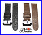 22mm 24mm Banda Leather Watch Band Strap with Pre V Buckle for Large Watch $48
