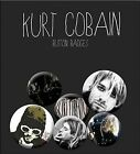 Kurt Cobain / Nirvana pack of 6 round pin badges    (mm)  REDUCED to clear