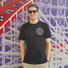 Pacific Wave Surf Club Fitted T-Shirt Men's Black