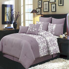 Bliss Luxury 8PC Comforter Set, Includes Comforter, Skirt, Shams, Pillows