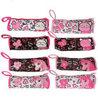 Pony Unicorn Kitty Cat Plush Pencil Pen Crayon Pouch Case Cosmetic bag Girls NEW