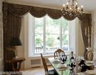 """SWAGS AND TAILS + LONGER SHOW CURTAINS,FITS 160 (407cm) WIDE x up to 107"""" drop"""
