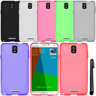 For Samsung Galaxy Note 4 N910 TPU SILICONE Rubber Soft Case Phone Cover + Pen