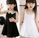 Kids Children Clothing Casual Girls Sleeveless Dress Summer Princess Tutu Skirts