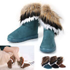 Fashion Snow Boots Women Autumn  Winter Furry lining Ankle Boots Warm Fur Shoes