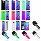 TPU Rubber Gel Jelly Case Cover+LCD Film+Stylus Pen For Samsung Galaxy Note 5