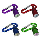 NEW Pet Dog LED Flasher Blinker Light Buckle Clip Safety Pendant Collar SA