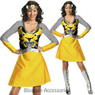 CL502 Transformers 3 Bumblebee Womens Classic Superhero Hero Fancy Dress Costume