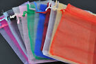 30pcs Organza Jewelry Wedding Party Favor Decoration Gift Jewelry Bags 9~15mm