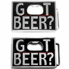 BBUM0381 GOT BEER CAN TAB BOTTLE OPENER BEVERAGE DRINKS ALLOY METAL BELT BUCKLE