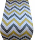 1 TABLE RUNNER-made in JAZZ col SAFFRON yellow grey zig zag -fully lined wedding
