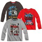 Hot Wheels - Kinder Jungen Langarmshirt Shirt (Gr. 104-140)