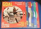 GOAL!  MAGAZINE VARIOUS ISSUES 1969