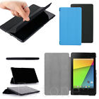 Fashion Slim Folding Folio Faux Leather Case Stand Cover Fr Google Nexus7 II 2nd
