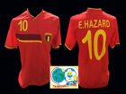 TOP FAN-OUT-FIT-BELGIEN-BELGIUM 2014/16-EDEN HAZARD-GRÖßEN 158 UND S-NEUWARE!