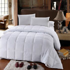 Royal All-Season Down Alternative Quilted Comforter Box Stitched / Corner Ties image